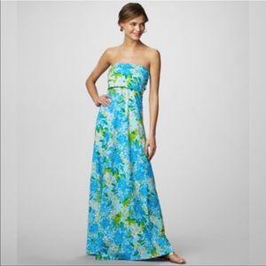 Lilly Pulitzer • Petula Strapless Maxi Dress M